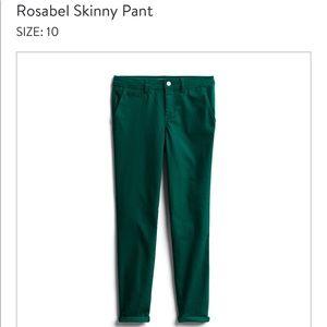 NWOT Market & Spruce Rosabel Skinny Pant